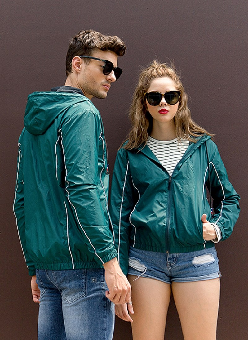 CASUAL COUPLE BOMBER JACKET  A06